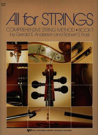 photo of All for Strings, Book 1, Cello