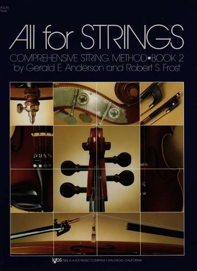 photo of All for Strings, Book 2, Violin