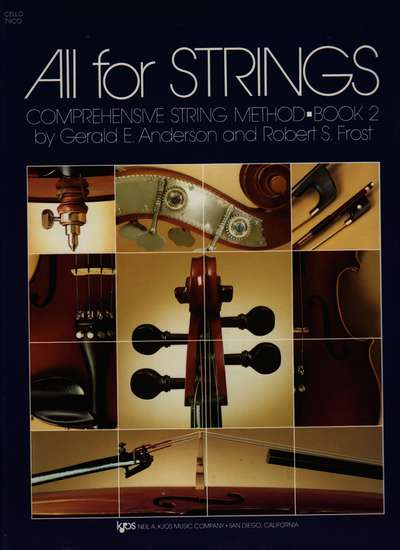 photo of All for Strings, Book 2, Cello