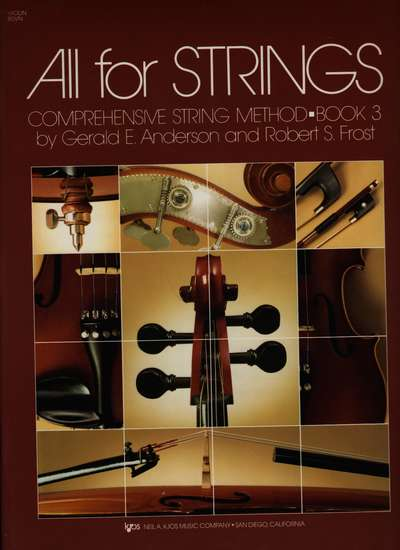 photo of All for Strings, Book 3, Violin