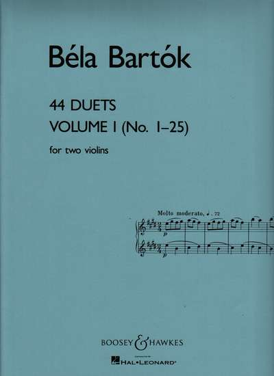 photo of 44 Duets, Vol. 1 (No.  1-25)