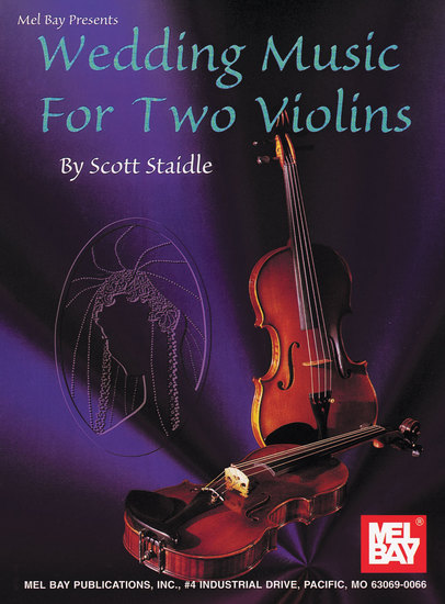 photo of Wedding Music for Two Violins