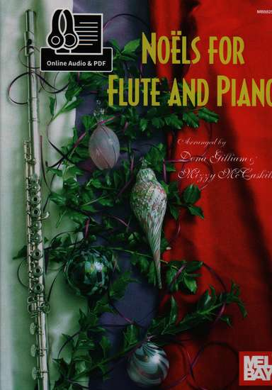 photo of Noels for Flute and Piano, with Online Audio and PDF