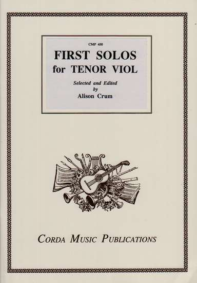 photo of First Solos for the Tenor Viol