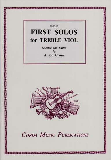 photo of First Solos for the Treble Viol
