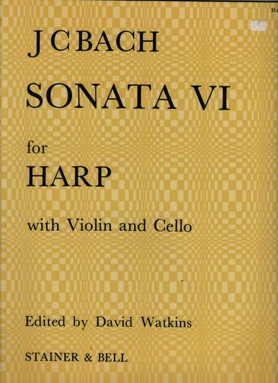 photo of Sonata VI for Harp with Violin and Cello