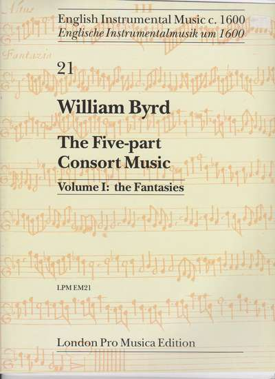 photo of The Five-part Consort Music, Vol. I: the Fantasies