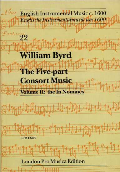 photo of The Five-part Consort Music, Vol. II: the In Nomines