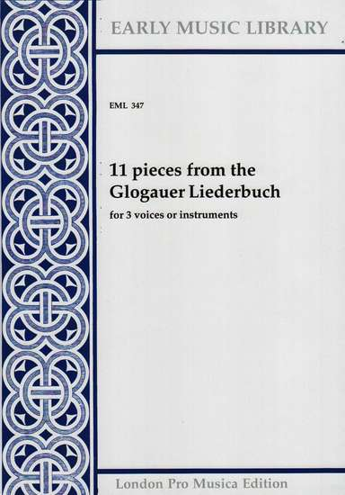 photo of 11 pieces from the Glogauer Liederbuch