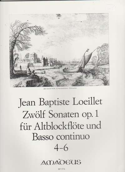 photo of Zwolf Sonaten, op. 1,  Vol. 2, 4-6