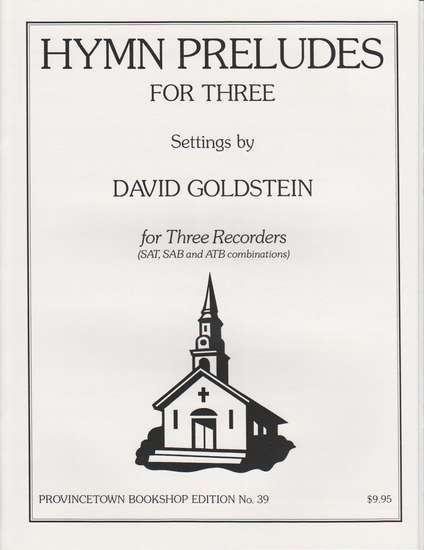 photo of Hymn Preludes for Three