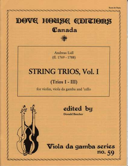 photo of String Trios, Vol. 1, Trios I-III