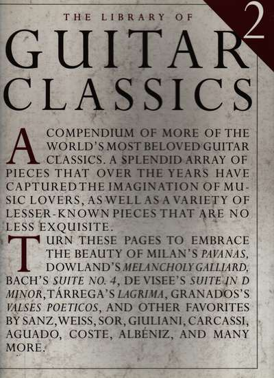 photo of Library of Guitar Classics, Vol. 2