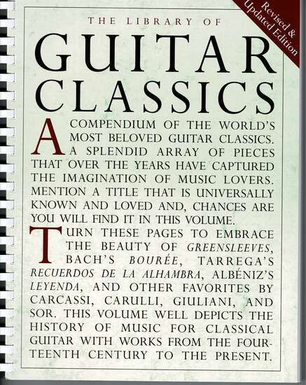 photo of Library of Guitar Classics, Revised
