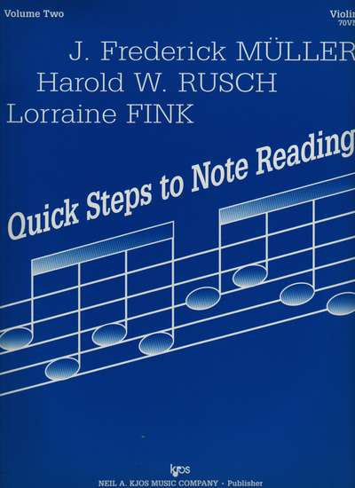 photo of Quick Steps to Note Reading, Vol. 2