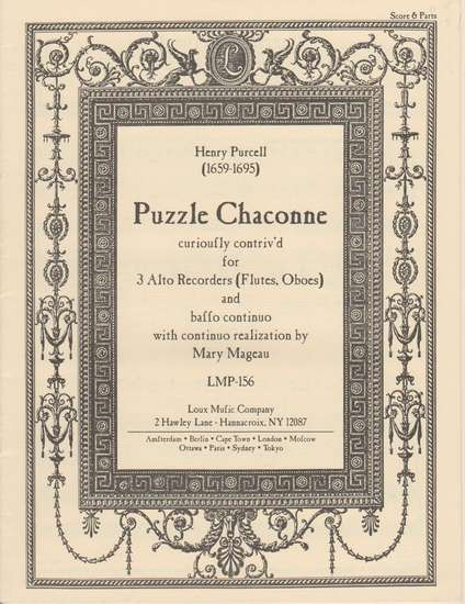 photo of Puzzle Chaconne