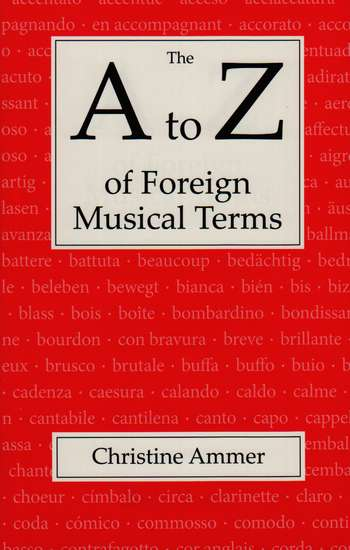 photo of The A to Z of Foreign Musical Terms