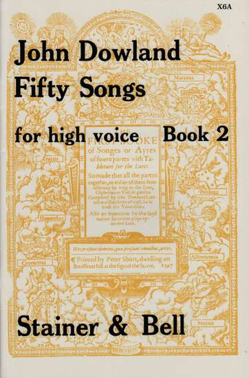 photo of Fifty Songs for High Voice, Book 2
