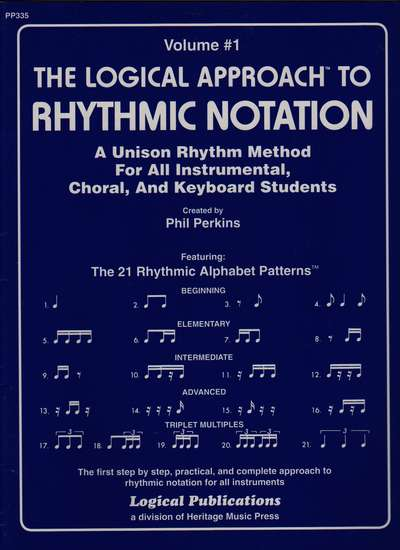 photo of The Logical Approach to Rhythmic Notation, Vol. 1