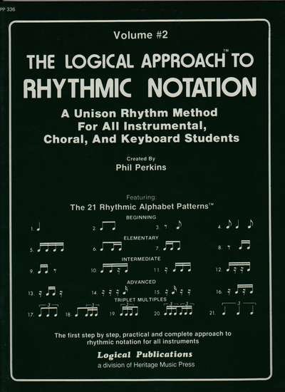 photo of The Logical Approach to Rhythmic Notation, Vol. 2