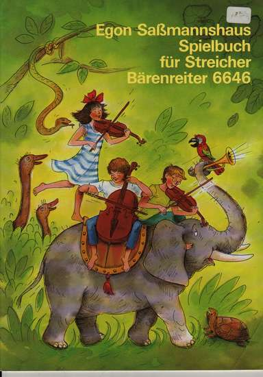 photo of Spielbuch fur Streicher