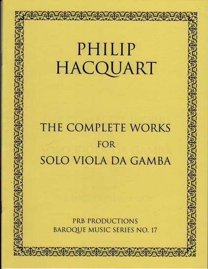 photo of The Complete Works for Solo Viola da Gamba