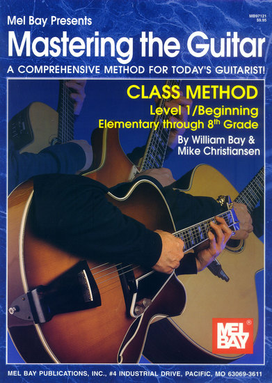 photo of Mastering the Guitar, Class Method, Level 1