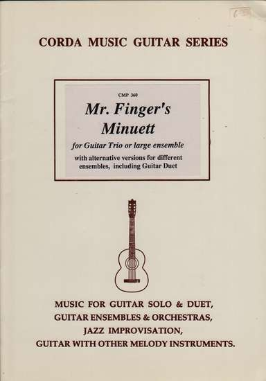 photo of Mr. Finger