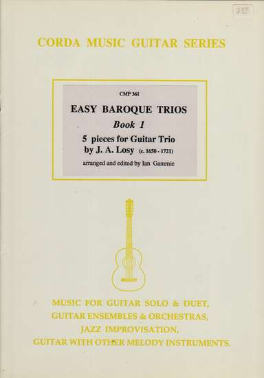 photo of Easy Baroque Trios, Book 1