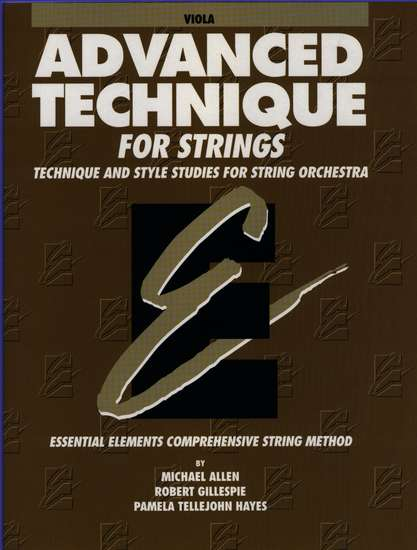 photo of Advanced Technique for Strings, Viola