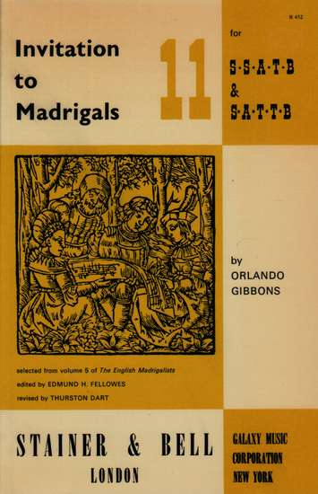 photo of Invitation to Madrigals, Book 11