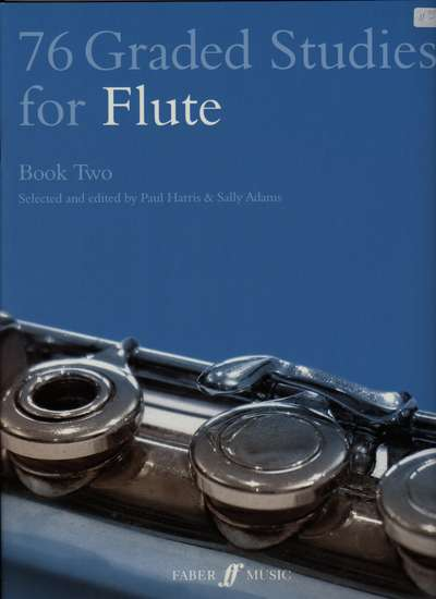 photo of 76 Graded Studies for Flute, Book Two