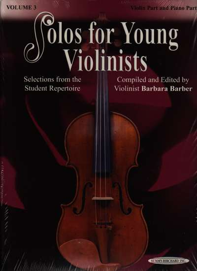 photo of Solos for Young Violinists, Vol. 3