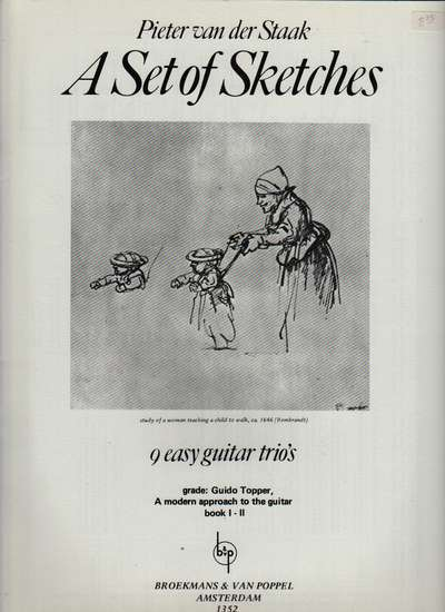 photo of A Set of Sketches, 9 Easy Guitar Trios