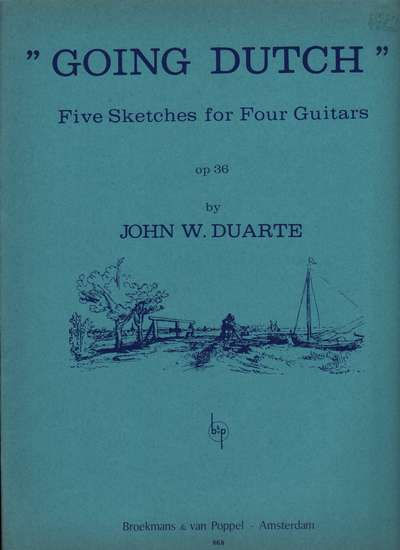 photo of Going Dutch Five Sketches for Four Guitars