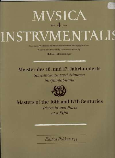photo of Masters of the 16th and 17th Centuries, Vol. 4