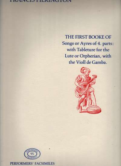 photo of First Booke of Songs or Ayres of 4 parts