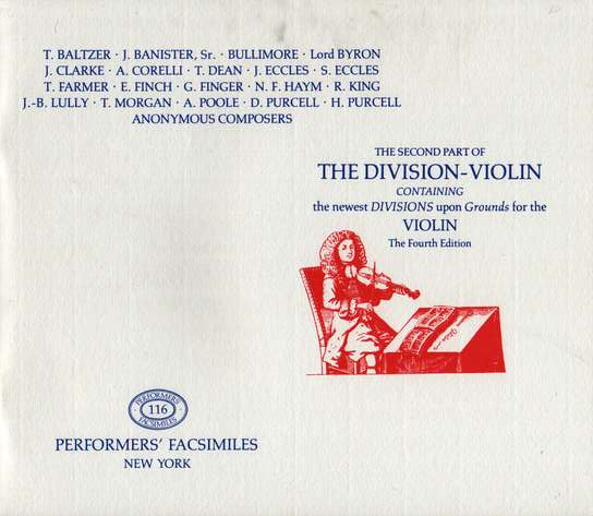 photo of The Division Violin, Vol. II, Fourth Edition