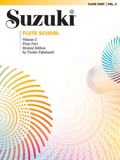 photo of Suzuki Flute School, Vol. 3, rev, 1996