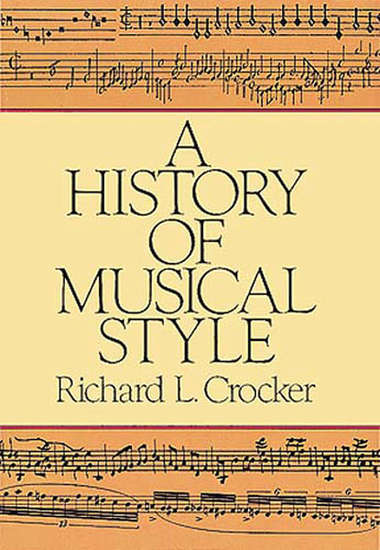 photo of A History of Musical Style