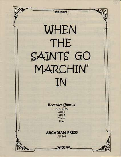photo of When the Saints go Marchin