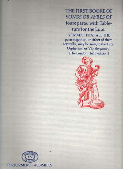photo of The First Booke of Songs or Ayres, facsimile