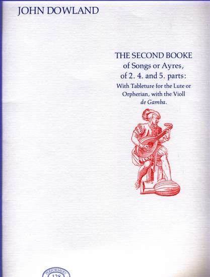 photo of The Second Booke of Songs or Ayres, facsimile
