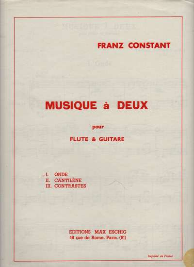 photo of Music à Deux, I Onde