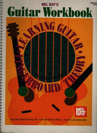 photo of Guitar Workbook, Learning Guitar Fingerboard Theory