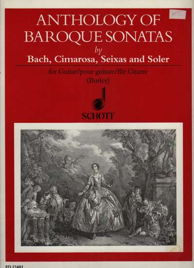 photo of Anthology of Baroque Sonatas