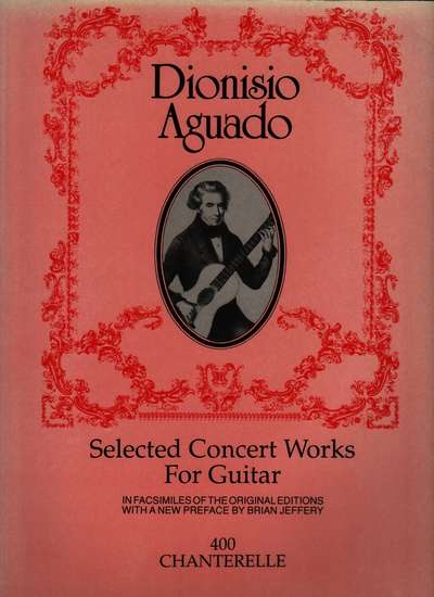 photo of Selected Concert Works for Guitar in Facsimile