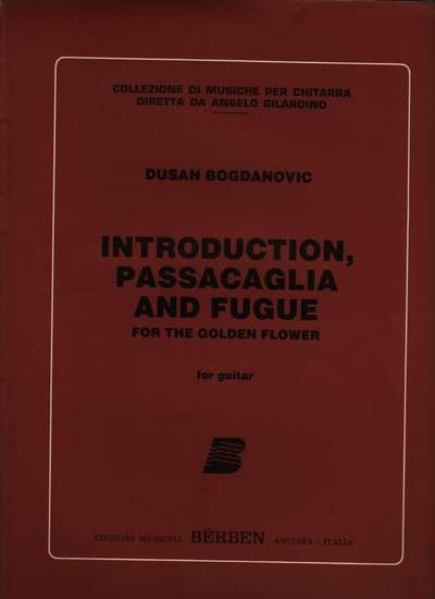 photo of Introduction, Passacaglia and Fugue for the Golden Flower