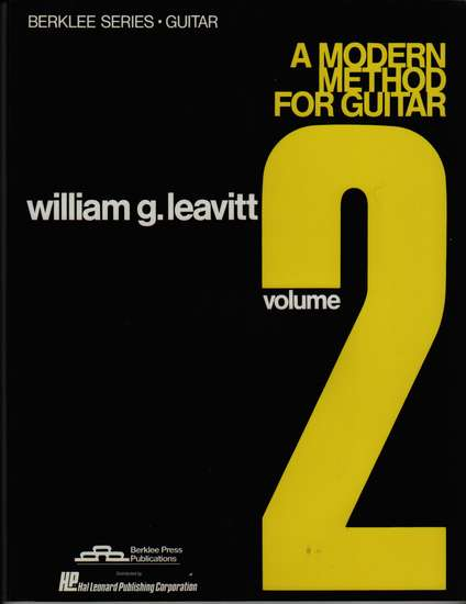 photo of A Modern Method for Guitar, Vol. 2