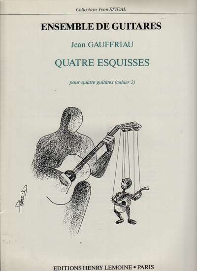 photo of Quatre Esquisses pour quatre guitares, cahier 2